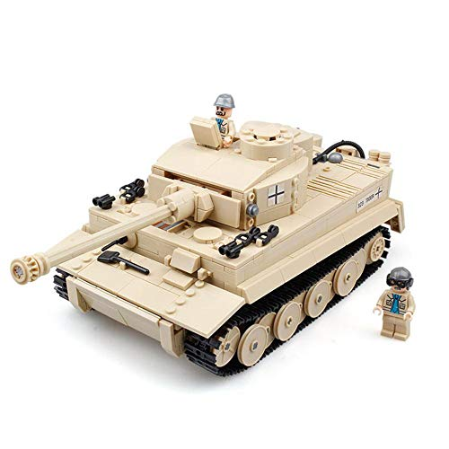 DYMAS Spielzeug Militär Bausteine-Serie Kinder Puzzle Spielzeug Panzer