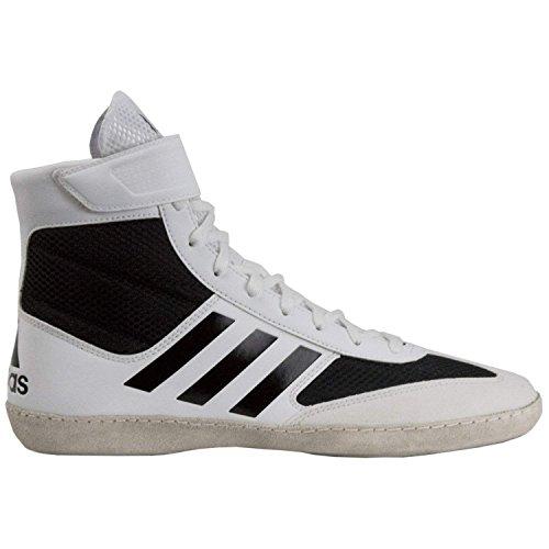 adidas Combat Speed V Ringer-Schuhe Wrestlerschuhe GRÖßENAUSWAHL & Farbauswahl (38 2/3 EU/UK 5,5, Weiß) -