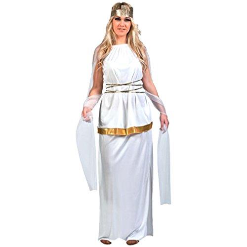 Spassprofi Kostüm Athene Größe 38-42 Griechische Göttin Tunika Römerin