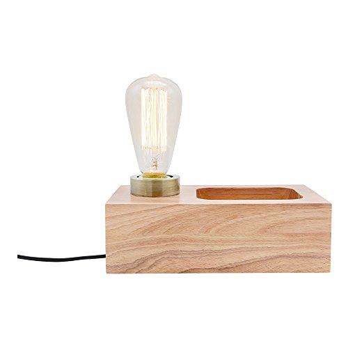 Cult Living Newton Holzblock Tischlampe - Natürlich