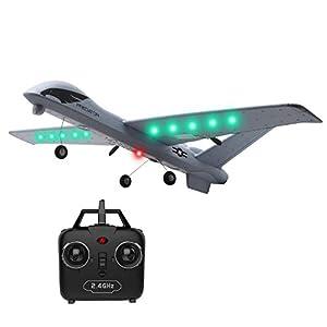 WEIFLY Drohnen 2.4G Fern 1.2CH Fern 660mm Spannweite Schaum-Handeinführung...