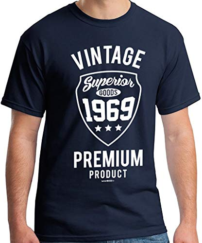 Men's Vintage Premium 1969 T-Shirt for 50th Birthday