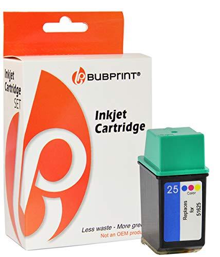 Preisvergleich Produktbild Bubprint Druckerpatrone kompatibel für HP 25 color TF640 PRT 0201