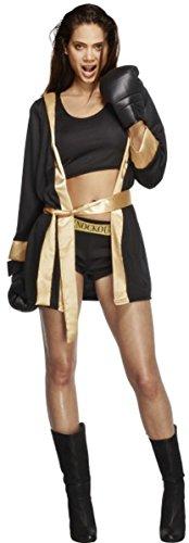 Damen Erwachsene Kostüm Outfit Knockout Damen Sexy Fever Fancy - Knockout Für Erwachsene Kostüm