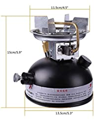 Leezo Mini Estufa de Combustible líquido, Estufa de Gasolina portátil para Camping al Aire Libre