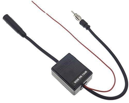 empfangsverstaerker autoradio Autoradio Antennenverstärker 16 dB AM/FM Antenne Signal Verstärker 12V KFZ Auto