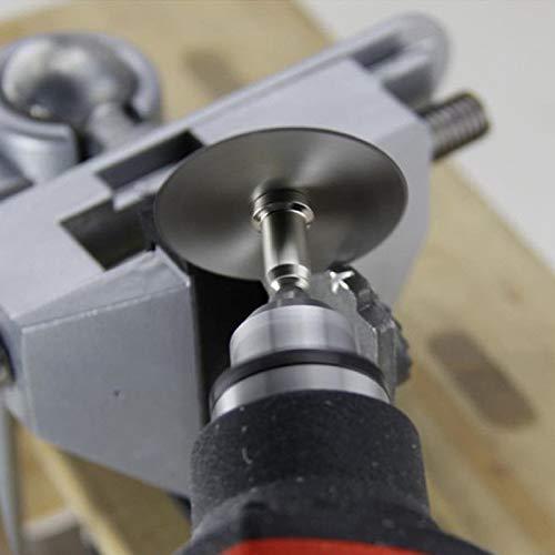 Trennscheiben Sah Scheibenrad Für Bohrer Präzisionswerkzeuge + Dorn,Superabrasive Schleifscheiben Trennscheiben (6PC)