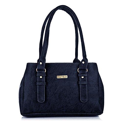 Fostelo Women\'s Handbag Blue (FSB-416)