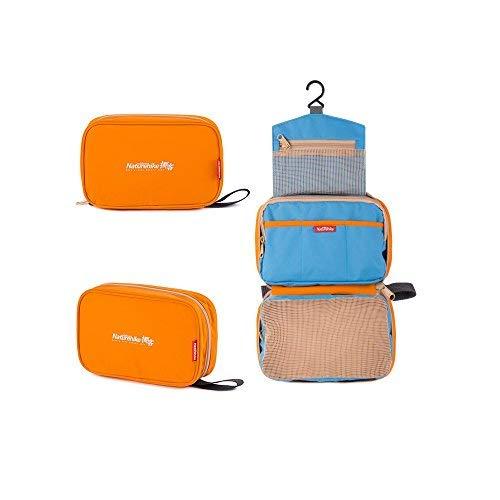 Impermeabile hysenm sacchetto della lavata borsa da toilette viaggio trousse pieghevole colorato da appendere