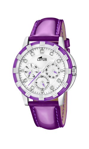 086041256ec4 Lotus 15746 6 - Reloj analógico de cuarzo para mujer con correa de piel