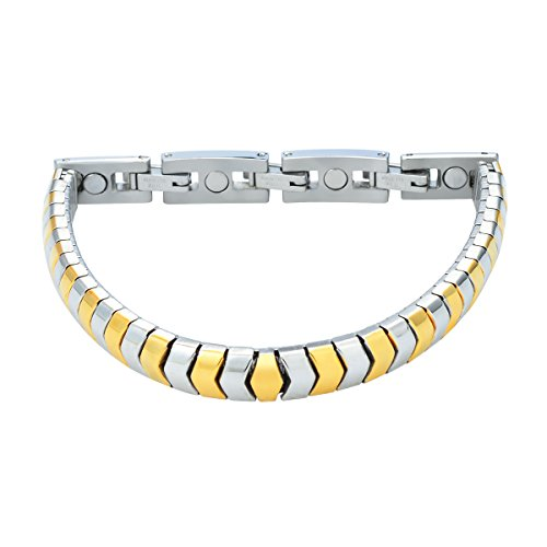 Bicolor Premium Design Energy Flex Bracelet Energie Magnetarmband Energetix 4you 440 flexibel Designed by Magnetix S M
