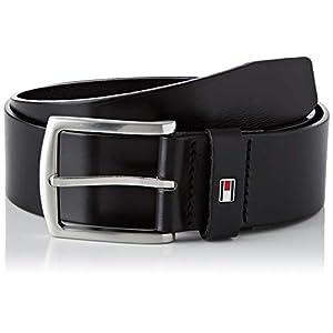 Tommy Hilfiger Men's New Denton Belt, Black, 110 cm (Manufacturer Size: 110)