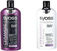 Syoss Ceramide Shampoo + Conditioner, 500 ml