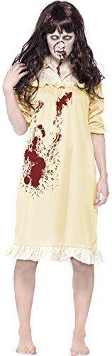 Damen-zombie Besessen Demon Exorzist Halloween Kostüm Kleid Outfit -