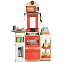 Little Tikes Cook 'n Store Kitchen (Red) by Little Tikes