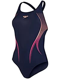 Speedo Damen Activeturn Placement Powerback Badeanzug