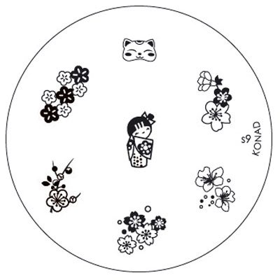 Pochoirs pour le Kit Nail Art S9 #40S09
