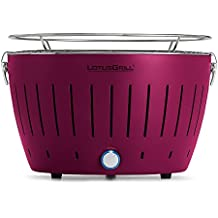 LotusGrill G-LI-34 - Barbacoa de carbón sin humo, color púrpura
