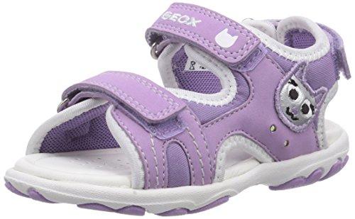 Geox B SANDAL CUORE A, Baby Mädchen Lauflernschuhe, Violett (LILACC8020), 26 EU