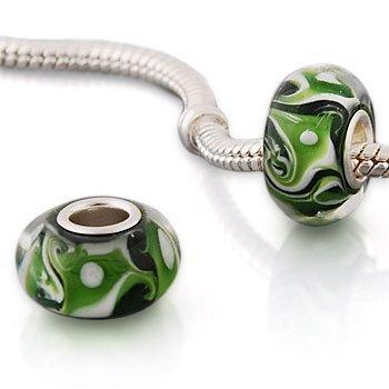 Andante-Stones 925 Sterling Silber Murano Glas Bead