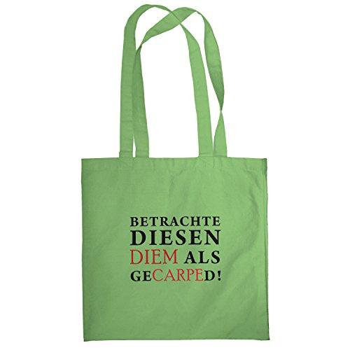 Texlab–Diem gecarped–sacchetto di stoffa Verde chiaro