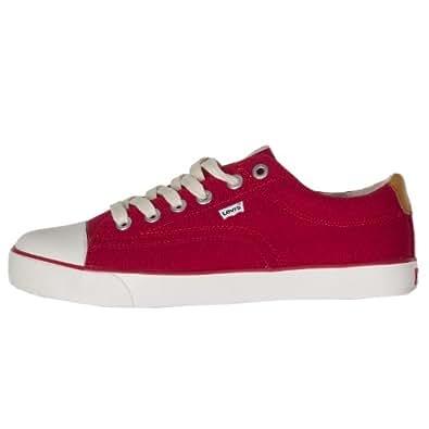 Levis Canvas Shoes UK 6.5 Red
