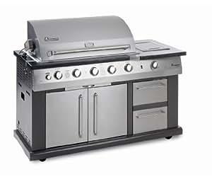 Barbecue cuisine Landmann AVALON ELITE acier 26.3kW Landmann 12781