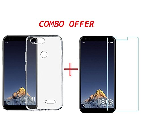 Canyon™ Infocus Vision 3 Tempered Glass + Back Cover – HD Tempered Glass Combo Pack