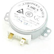CA 220-240V 4W 5-6 RPM Plato giratorio Motor Sincrónico para Horno Microondas