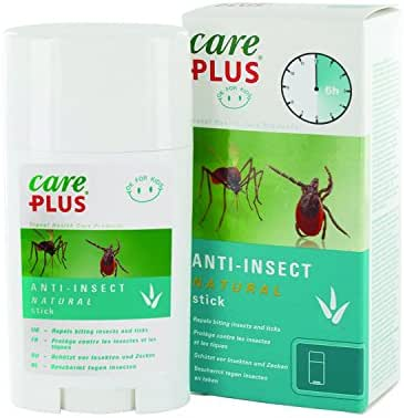 Care Plus Anti-Insecte Natural Bâton Citriodiol de 50 ml