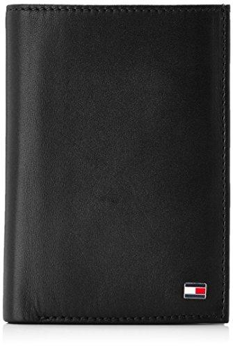 Tommy Hilfiger Eton N/S Wallet W/Coin Pocket Borsa, Uomo, Colore Black 2