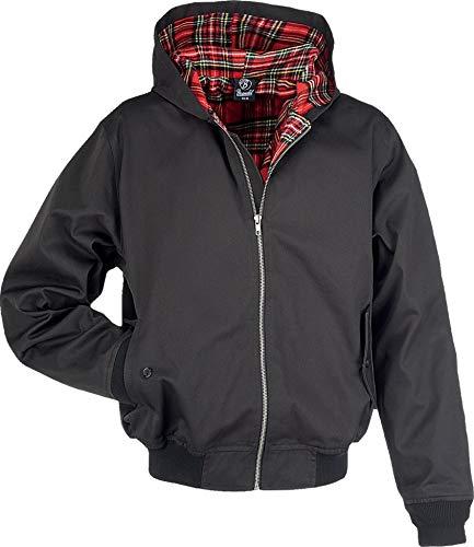 Brandit Hooded Canterbury Jacke, schwarz, Gr. M (Kapuzen-jacke 1)