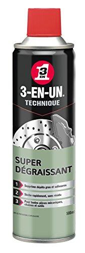 3-EN-UN Super Dégraissant aérosol 500 ml (paquet de 12)
