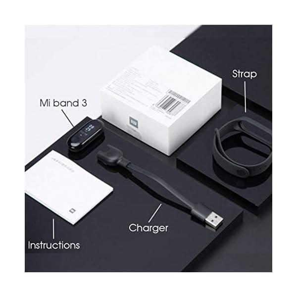 Xiaomi Mi Band 3 - Pulsera de actividad, Pantalla 0.78'' full OLED táctil, Notificaciones, Sumergible 50m, Mide calorías, pasos y sueño, Negro 10