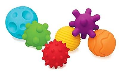 Infantino Sensory Textured Multi Ball Set