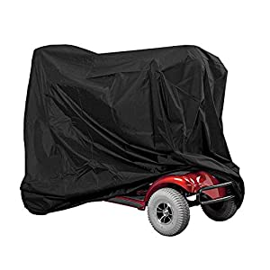 Waterproof Mobility Scooter Cover, Professional Eldly Wheelchair Scooter Rain Protection, 66.9 * 24.0 * 46.0inch
