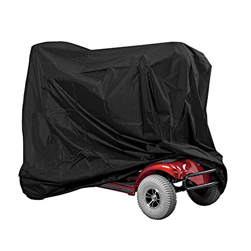 Caredy Mobilitätsroller-Abdeckung, professioneller wasserdichter Rollstuhl-Regenschutz Robuster Eldly Mobilitäts-Regenschutz Einfach, Ihren Roller zu schützen -
