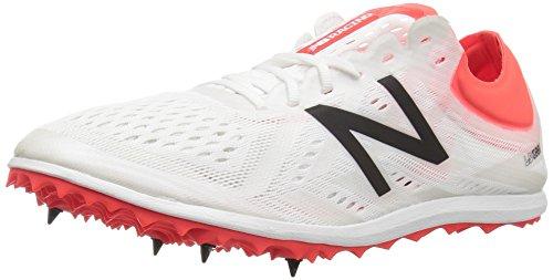 New Balance Women's Long Distance Running Shoes, (White/Orange), 5 UK 37.5 EU