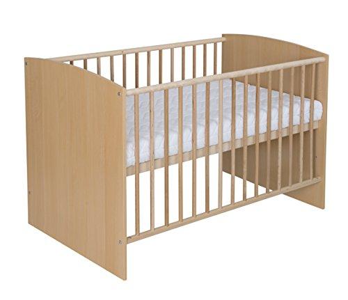 Schardt 03 492 04 01 Kinderbett, 60 x 120 cm, Classic Buche