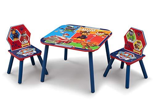 Paw Patrol Kleiner Tisch und Stühle (Blau) -