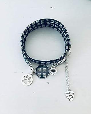 Bracelet Liberty carrés et patte, bijou Liberty, bracelet en tissu liberty, idée cadeau, bracelet parfum, bijou, bijou patte, bijoux cadeaux