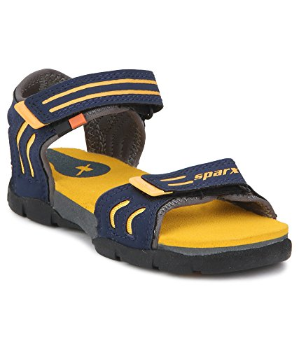 Sparx Boys Navy Blue Grey Synthetic Floaters -SS0106CNBGY  available at amazon for Rs.599