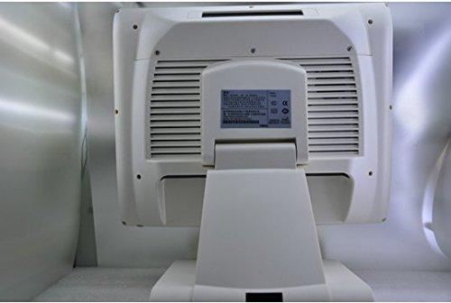 Preisvergleich Produktbild Gowe milchig weiß 38,1cm POS System All in One POS Maschine, c1037u 128G SSD DDR34G 2.4G Wireless kyeboard Maus Touch Bildschirm