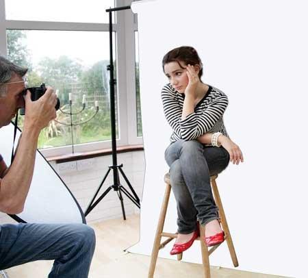 Sfondo Fotografico Studio Starter Kit con superiore