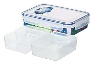 EMSA CLIP & CLOSE Frischhaltedose, eckig 1,1 L