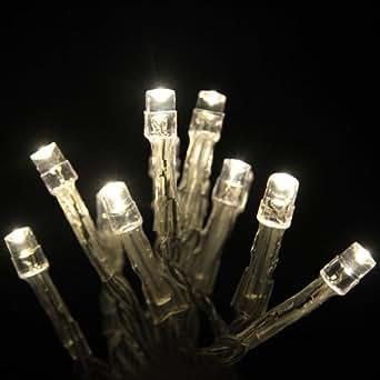 Innoo Tech 3M Guirlande lumineuse à piles 30 LED pour maison, mariage, anniversaire, fête de Noël ect (Blanc Chaud)