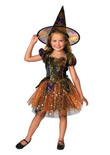 Mädchen Rubies Elegant Hexe Kleinkinder Kinder Magical Halloween Kostüm - Medium (Ländern Auf Der Ganzen Welt Kostüme)