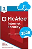 McAfee Internet Security 2020 | 3 Devices | 1 Year | PC/Mac/Android/Smartphones | Download Code