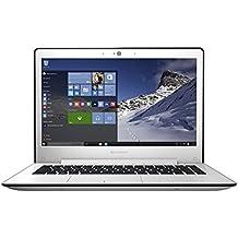 "Lenovo U31-70 - Portátil de 13.3"" Full HD (Intel Core I5-5200U, 8 GB de RAM, 500 GB de disco duro y  SSD 8 GB, gráfica NVIDIA GT 920A de 2 GB, Windows 8.1), blanco - Teclado QWERTY Español"