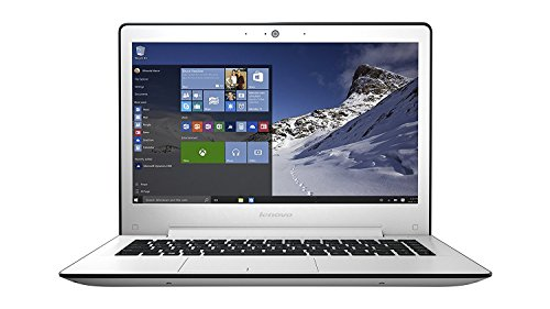"Lenovo U31-70 - Portátil de 13.3"" Full HD (Intel Core I5-5200U, 8 GB de RAM, 500 GB de disco duro y  SSD 8 GB, gráfica NVIDIA GT 920A de 2 GB, Windows 8.1), blanco - Teclado QWERTY Español"